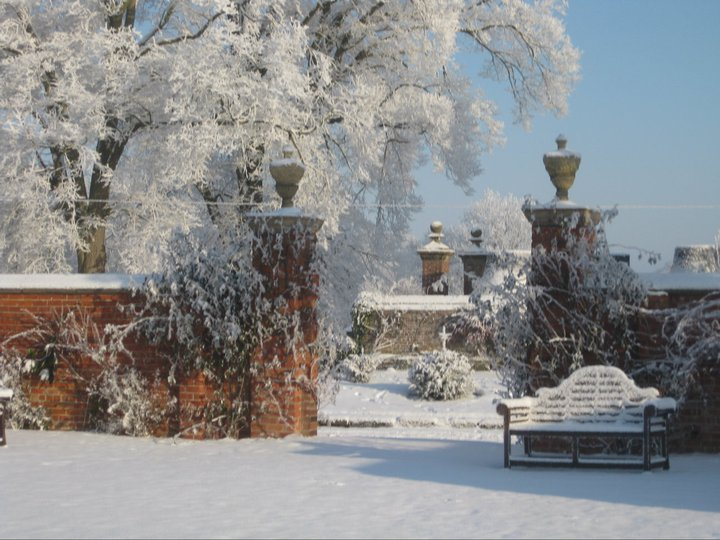 Christmas at Soulton Hall in Shropshire