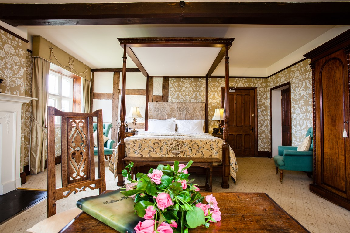 'Hill' - Bedroom in Soulton Hall