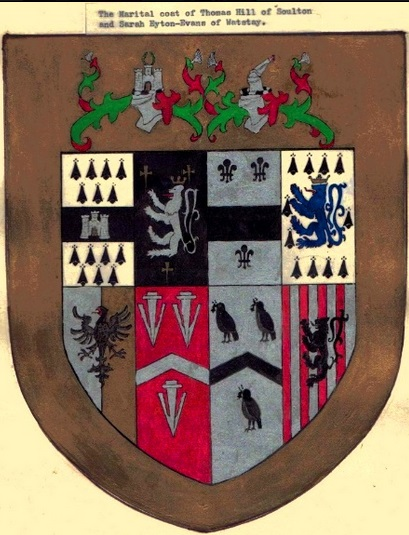 Soulton Hall Coat of Arms