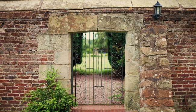 Soulton Walled Garden Gate