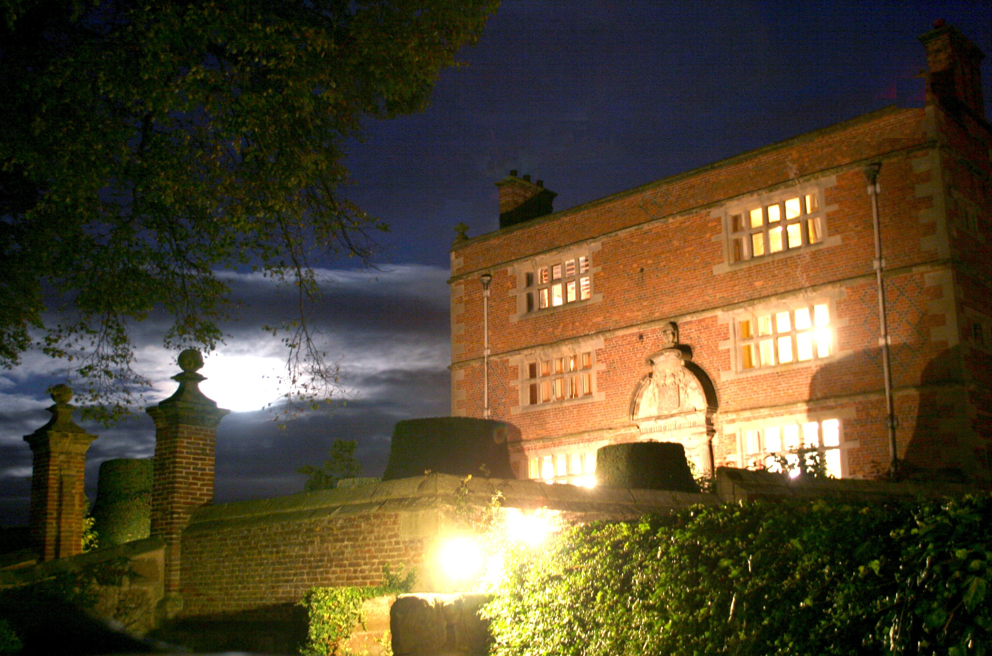Soulton Hall at Night