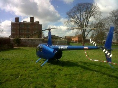 Soulton Hall Helicopter