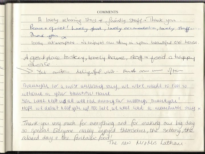 Soulton Guest Book Comments 9
