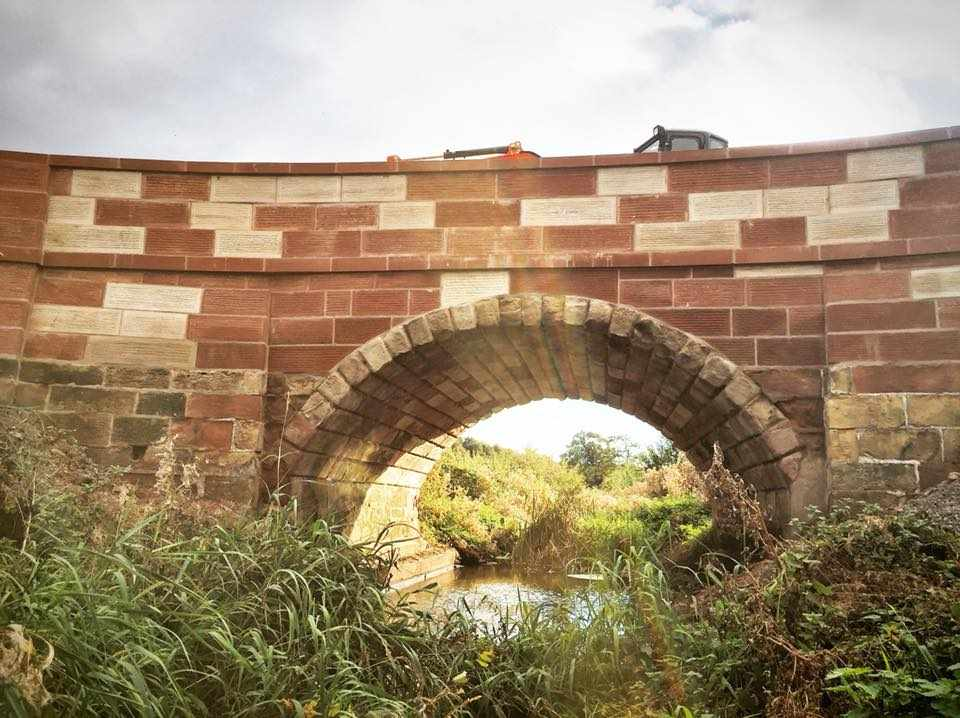 Soulton Bridge Restoration