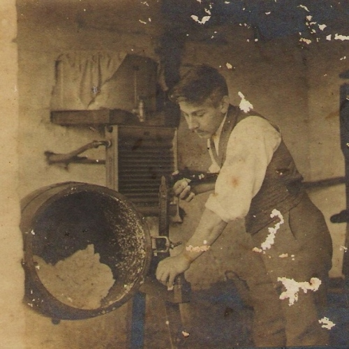 Churning Butter, 1890s