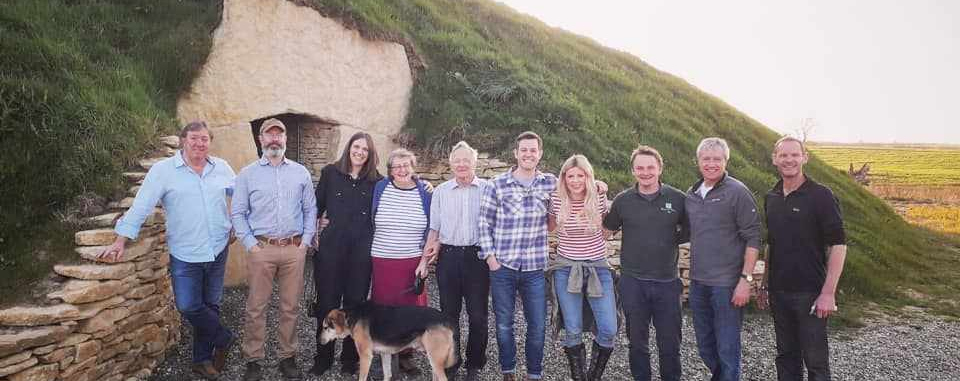 Visit of BBC Countryfile to the barrow with Matt Baker